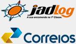 JadLog e Correios