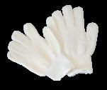 Luva Tricotada 4 fios 100% algodão Grafatex externo